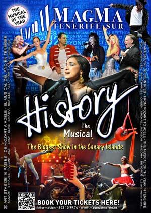 """""""History"""" un espectáculo musical muy recomendado"""