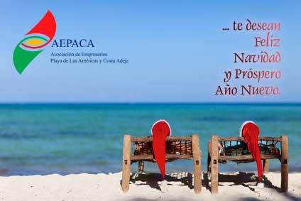 A.E.P.A.C.A te desea Feliz Navidad y Próspero Año Nuevo