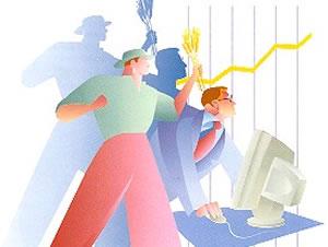 La crisis empuja a más parados a crear empresas como autónomos