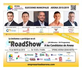 CARTEL ROAD SHOW ARONA 2015 - Medios