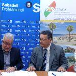 Convenio Aepaca y Banco Sabadell