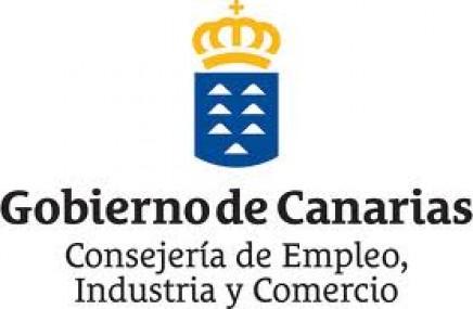 Logo consejeria empleo industria y comercio