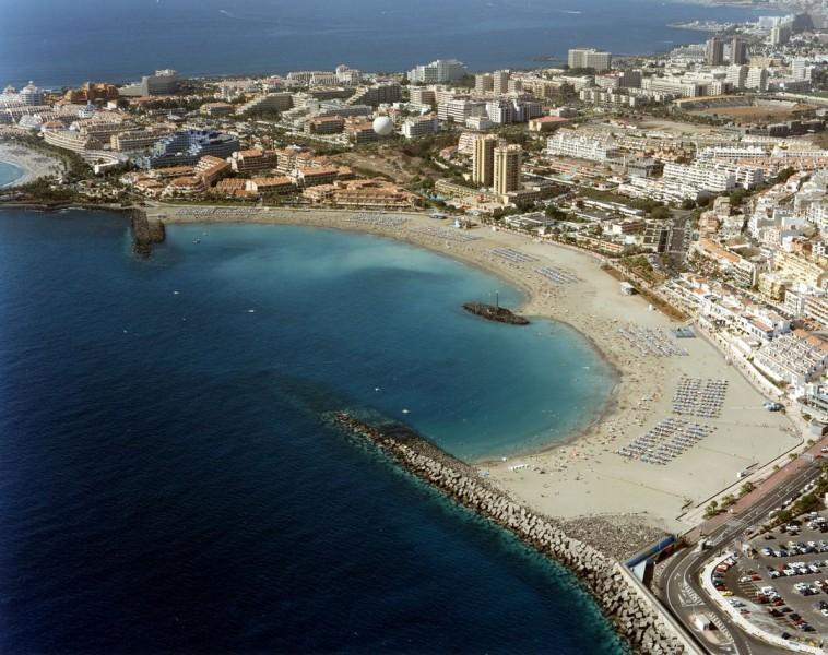 Playa de las vistas playas de tenerife arona