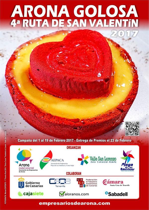 Arona Golosa para el Día de San Valentín