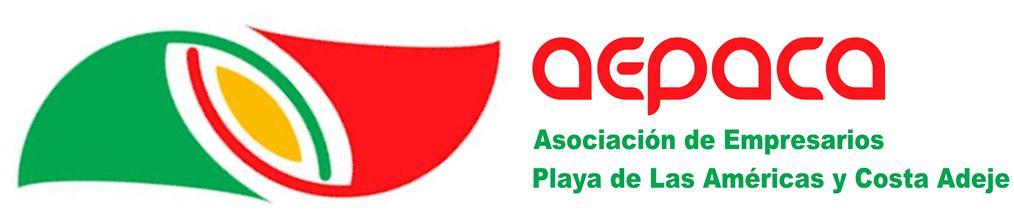 logo AEPACA Asociación de empresarios Playa de Las Américas y Costa Adeje