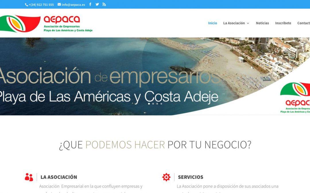 AEPACA estrena nueva web Corporativa